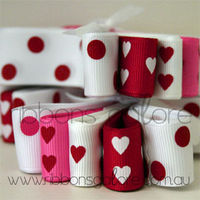Hearts-spots-red