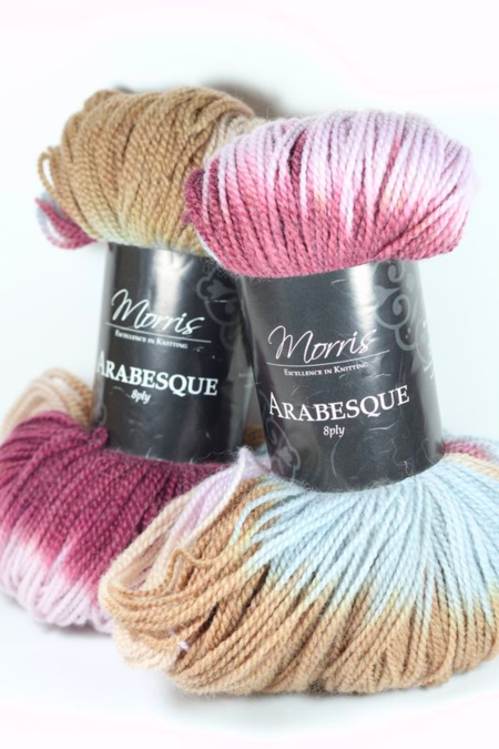 Fiona Carter's wool from Morris & Sons