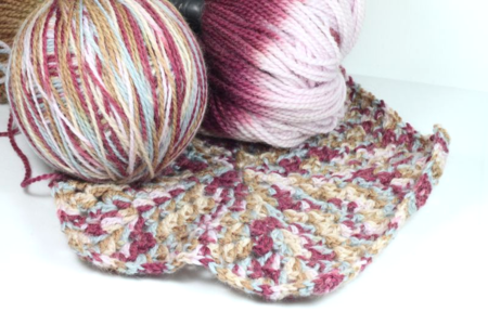 Fiona Carter's hexagon granny square crochet project