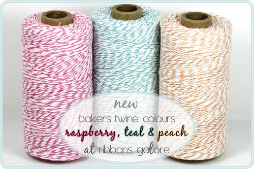 Ribbons Galore bakers twine | new colours