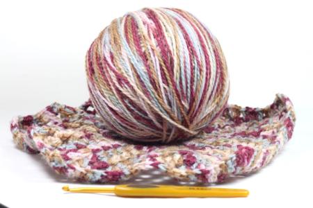 Fiona Carter's hexagon granny square crochet