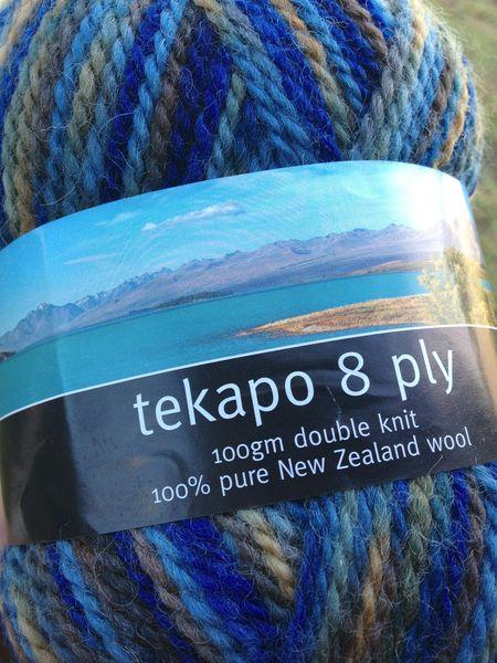 FEC Tekapo wool
