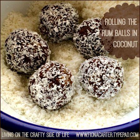 Fiona Carter's rum balls 2