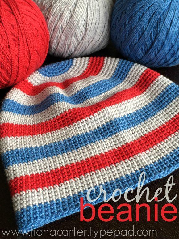 FEC crochet beanie 1