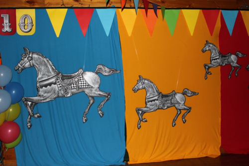 Fiona Carter's circus themed event ideas