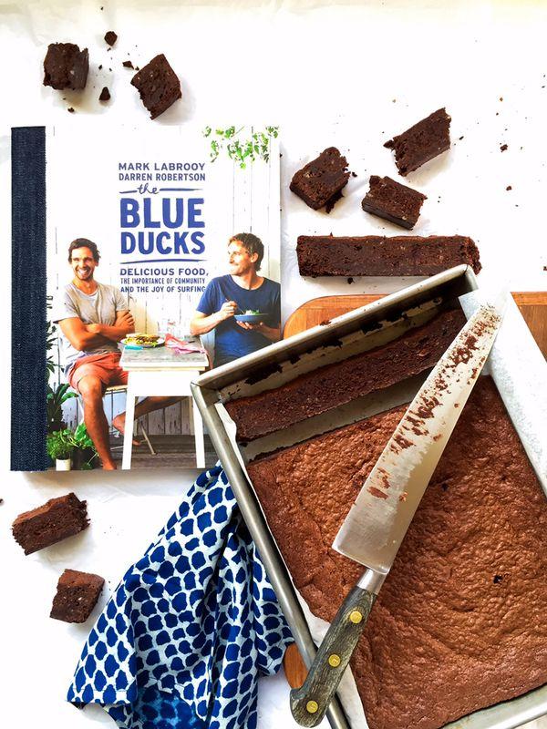 FEC-three-blue-ducks-cookbook-and-brownie