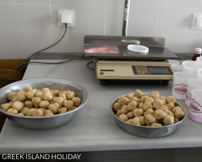 Greek Island Holiday Sifnos Theodorou sweet shop-6
