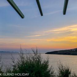 Greek Island Holiday Dinos Taverna Kardiani Bay on Tinos