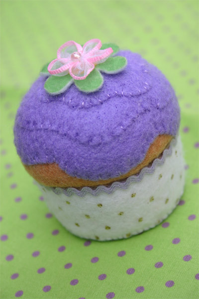 Cupcakepincushion
