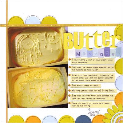 Buttermessages